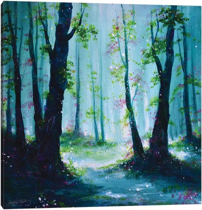 Woodland Morn Canvas Art Print