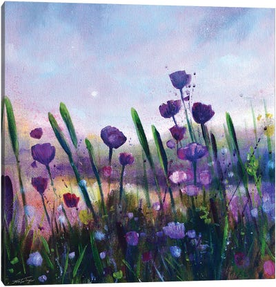 Summer Light Canvas Art Print