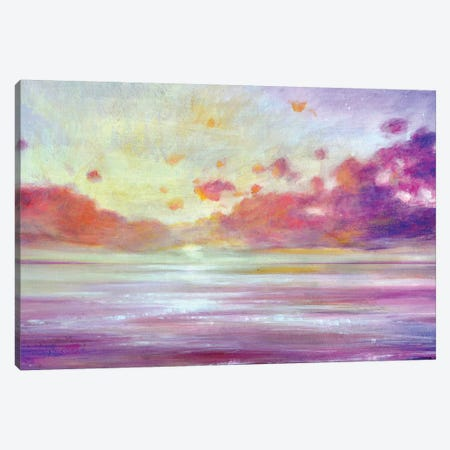Sparkling Dawn Canvas Print #JTL85} by Jennifer Taylor Canvas Print