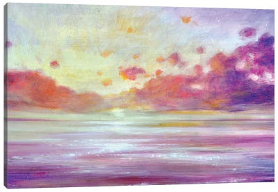 Sparkling Dawn Canvas Art Print