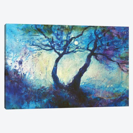 Moondande Canvas Print #JTL96} by Jennifer Taylor Canvas Artwork