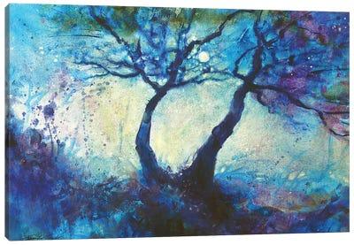 Moondande Canvas Art Print