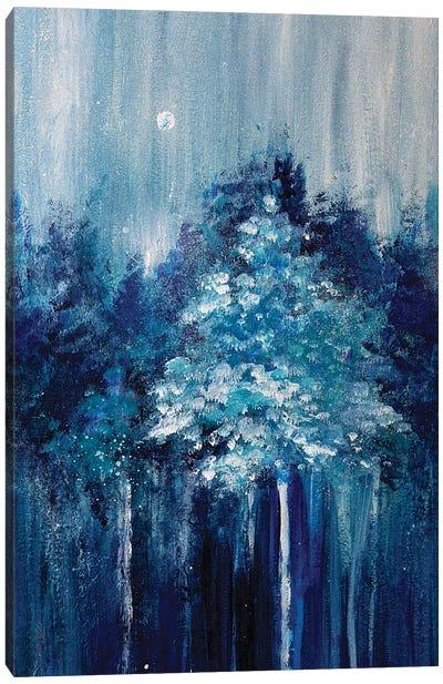 Winter Woods No 1 Canvas Art Print
