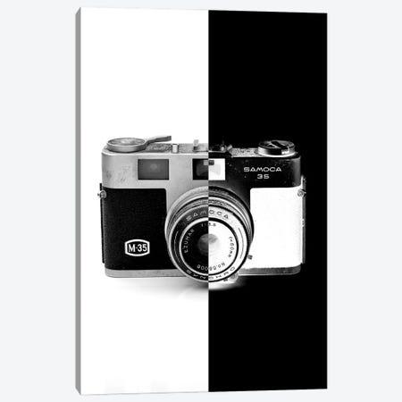 Camera Two Tone Canvas Print #JTN12} by Jonathan Brooks Canvas Art Print
