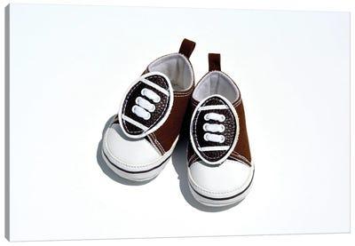 Baby Boy Shoes Canvas Art Print