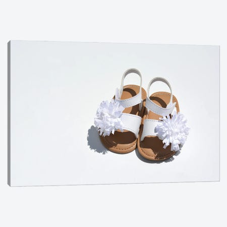 Baby Girl Sandals Canvas Print #JTN4} by Jonathan Brooks Canvas Wall Art