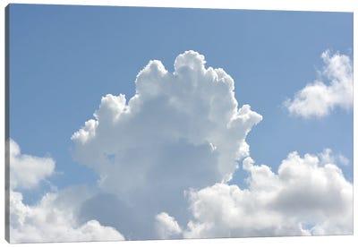 White Clouds Canvas Art Print