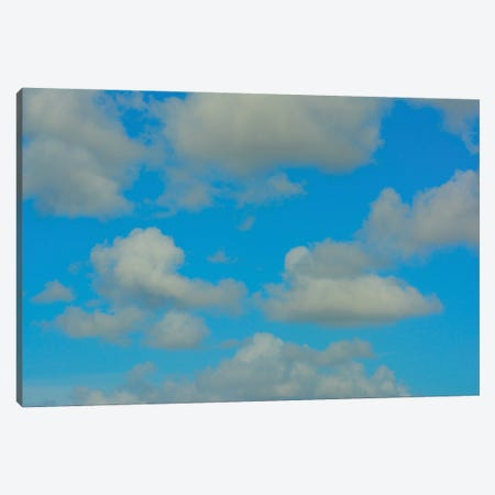 White Clouds Blue Skies Canvas Print #JTN70} by Jonathan Brooks Canvas Print