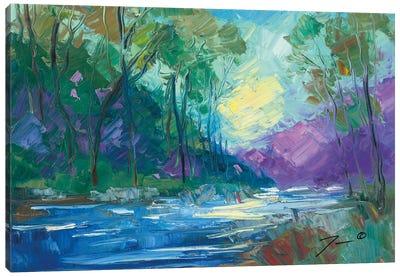 Early Light Impressions Canvas Art Print