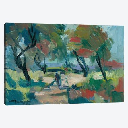 Early Walk Canvas Print #JTR11} by Jose Trujillo Canvas Art Print