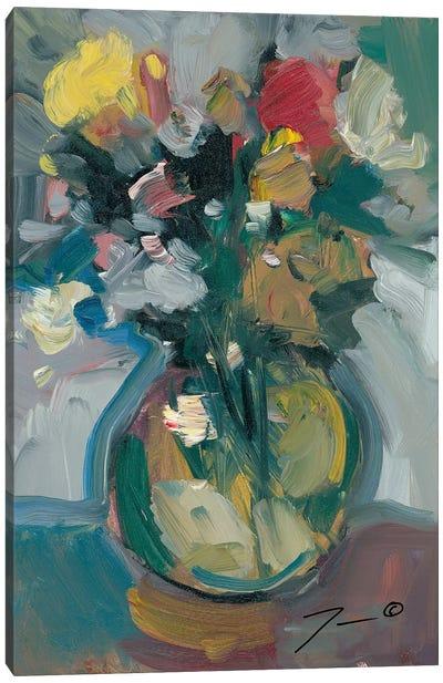 Glass Vase Canvas Art Print