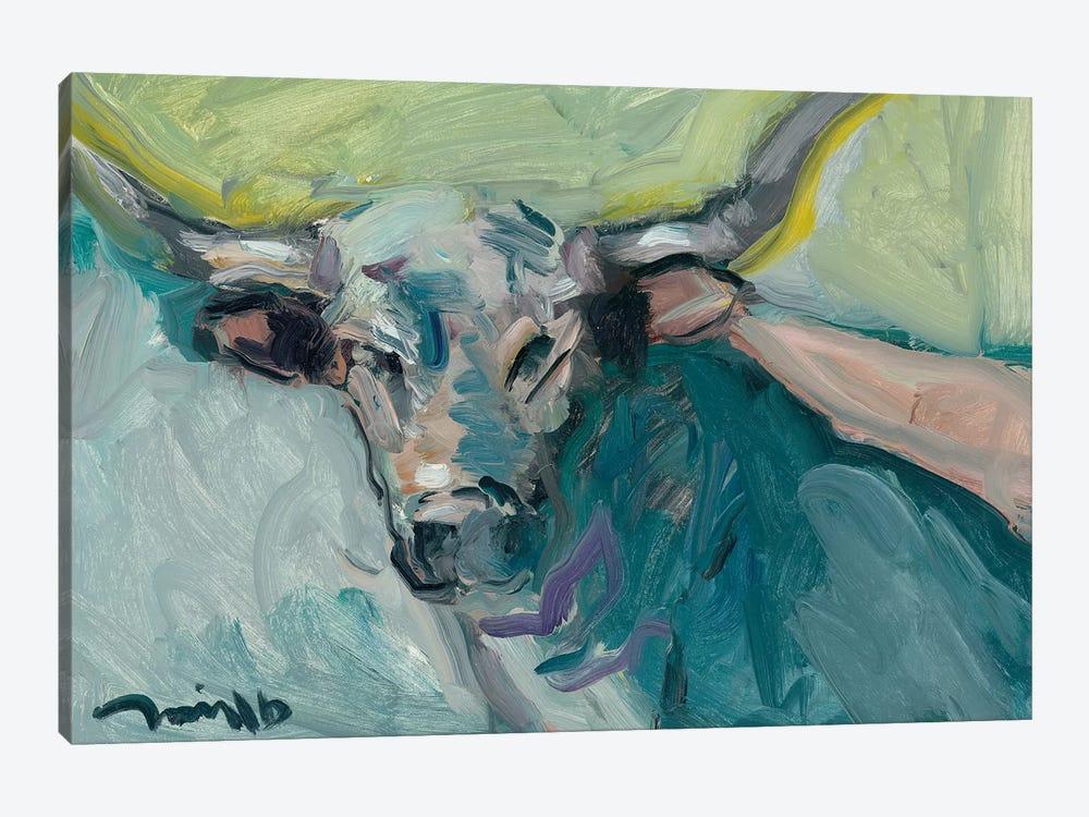Longhorn by Jose Trujillo 1-piece Canvas Wall Art