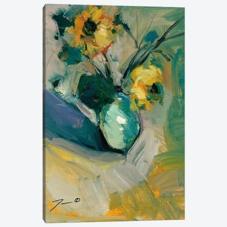 Sunflowers Canvas Print #JTR20} by Jose Trujillo Canvas Artwork