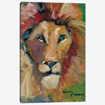 The King Canvas Print #JTR23} by Jose Trujillo Canvas Wall Art