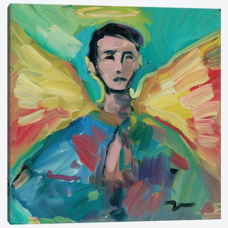 The Little Angel Canvas Print #JTR24} by Jose Trujillo Art Print