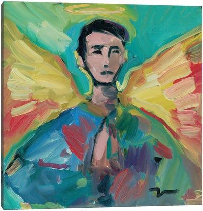 The Little Angel Canvas Art Print