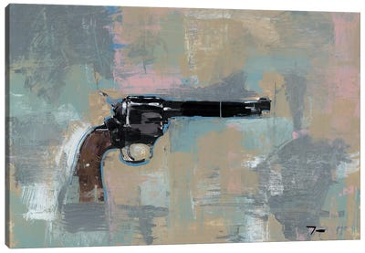 45 Revolver Canvas Art Print