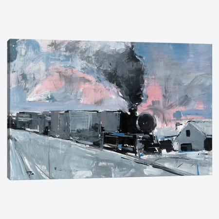 Train Station Canvas Print #JTR35} by Jose Trujillo Canvas Artwork