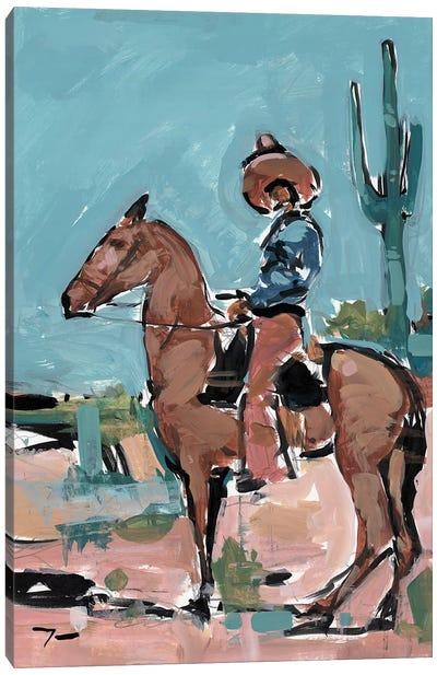 Vaquero Canvas Art Print