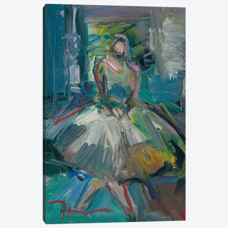 Ballerina Canvas Print #JTR5} by Jose Trujillo Canvas Print