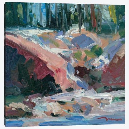 Cascade Canvas Print #JTR7} by Jose Trujillo Canvas Print