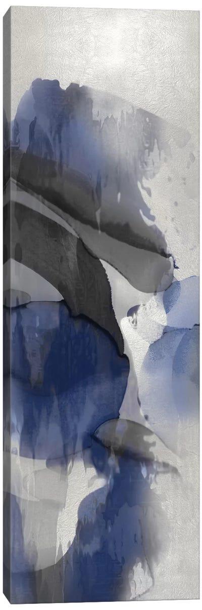 Cascade Indigo III Canvas Art Print
