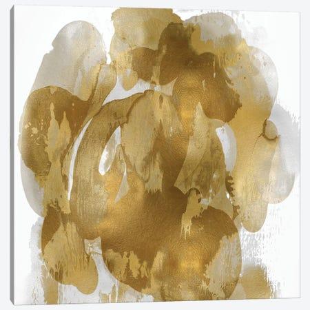 Gold Flow I Canvas Print #JTT12} by Kristina Jett Art Print