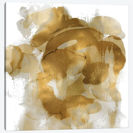 Gold Flow II Canvas Print #JTT13} by Kristina Jett Canvas Print