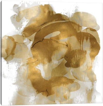 Gold Flow II Canvas Art Print