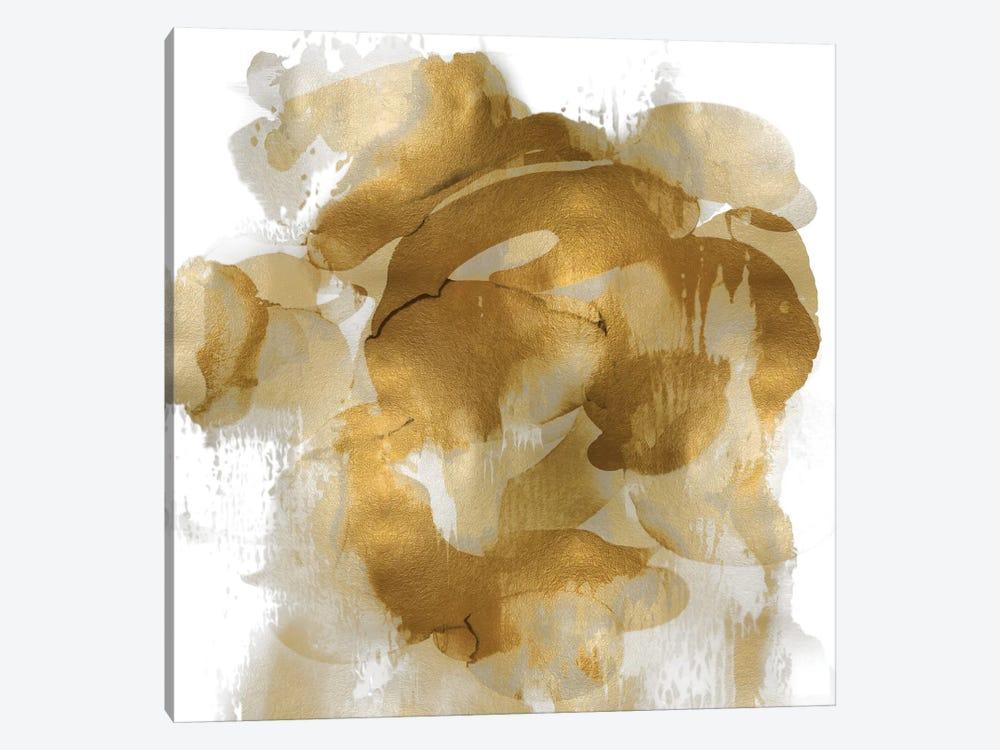 Gold Flow II by Kristina Jett 1-piece Canvas Art Print