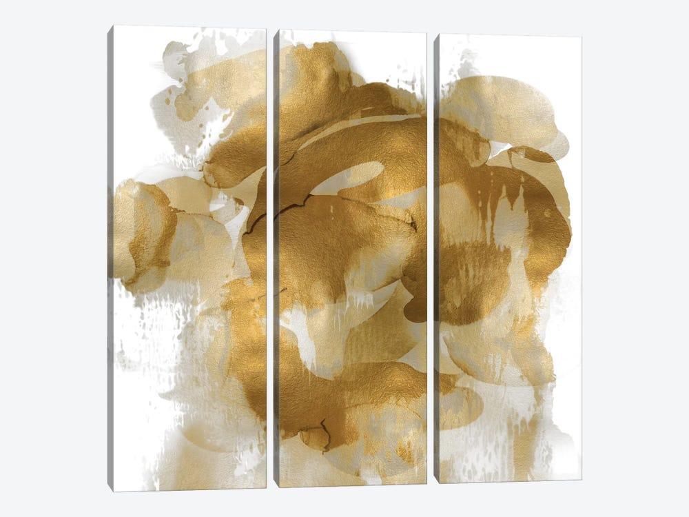 Gold Flow II by Kristina Jett 3-piece Art Print