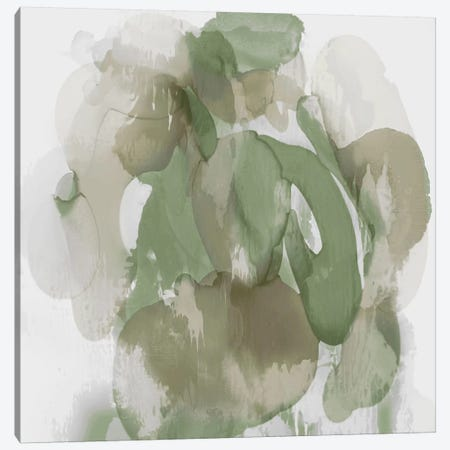 Green Flow I Canvas Print #JTT14} by Kristina Jett Canvas Artwork