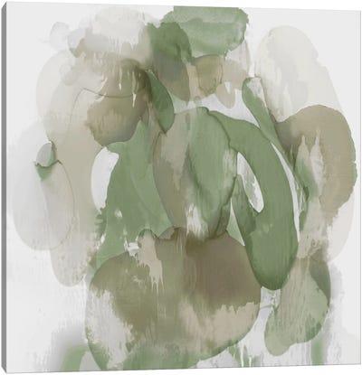 Green Flow I Canvas Art Print