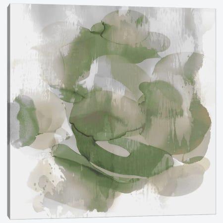 Green Flow II Canvas Print #JTT15} by Kristina Jett Canvas Art