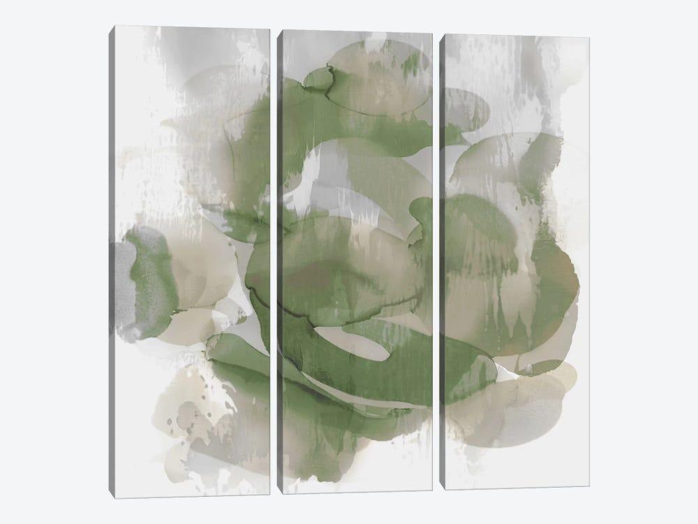 Green Flow II by Kristina Jett 3-piece Art Print