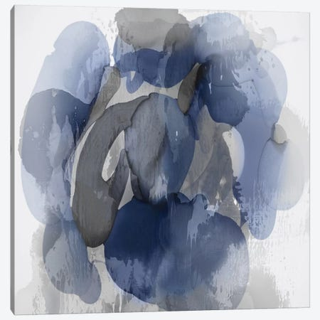 Indigo Flow I Canvas Print #JTT16} by Kristina Jett Canvas Art