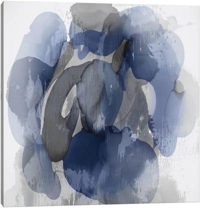 Indigo Flow I Canvas Art Print