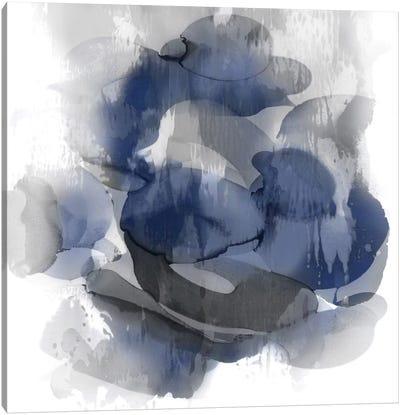Indigo Flow II Canvas Art Print