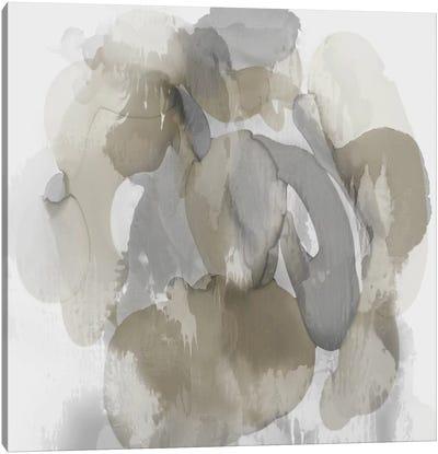 Neutral Flow I Canvas Art Print