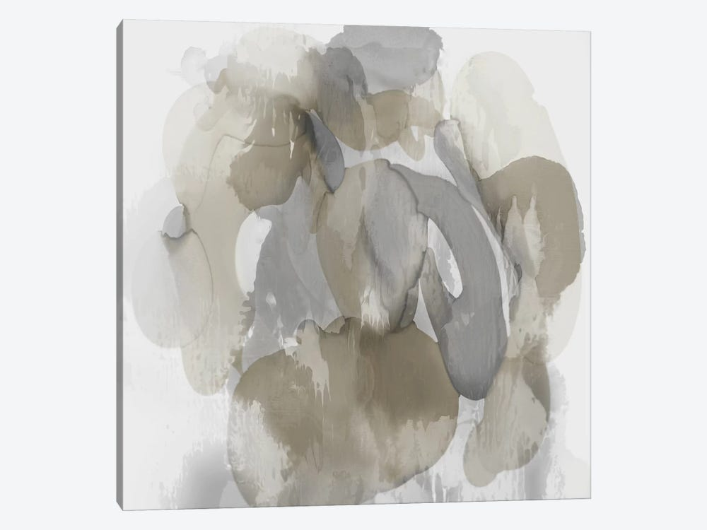 Neutral Flow I by Kristina Jett 1-piece Canvas Art