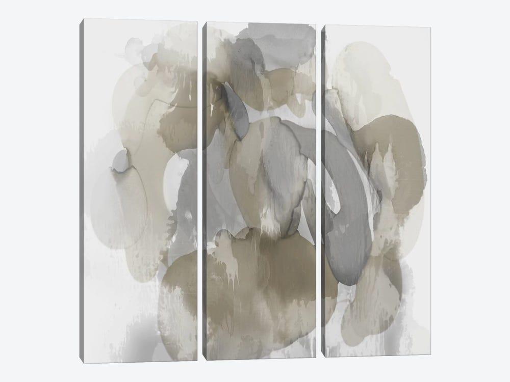 Neutral Flow I by Kristina Jett 3-piece Canvas Wall Art