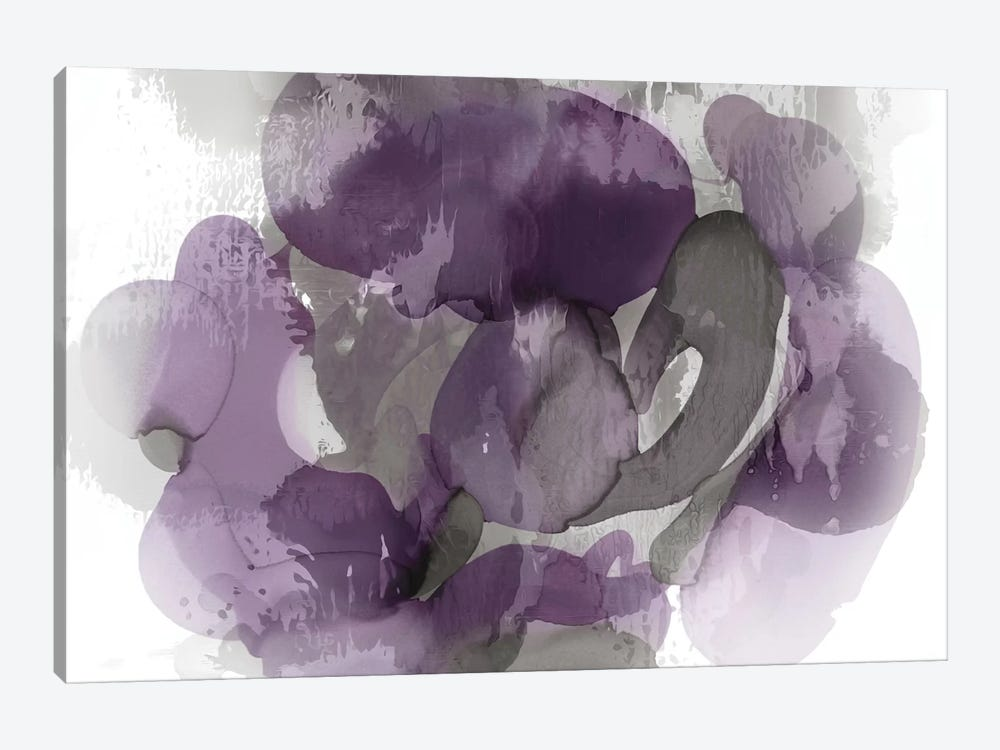 Amethyst Flow I 1-piece Canvas Art Print