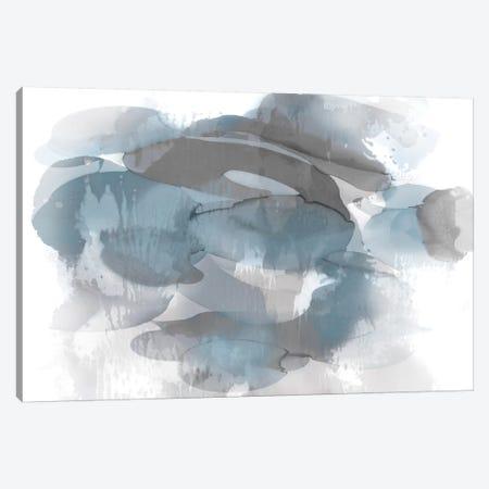 Aqua Flow I Canvas Print #JTT3} by Kristina Jett Canvas Wall Art