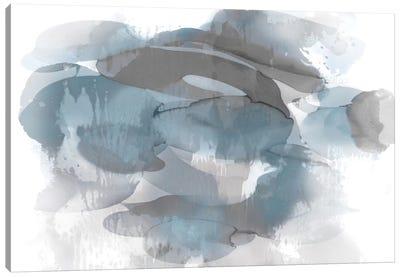 Aqua Flow I Canvas Art Print