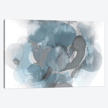 Aqua Flow II Canvas Print #JTT4} by Kristina Jett Art Print
