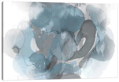 Aqua Flow II Canvas Art Print
