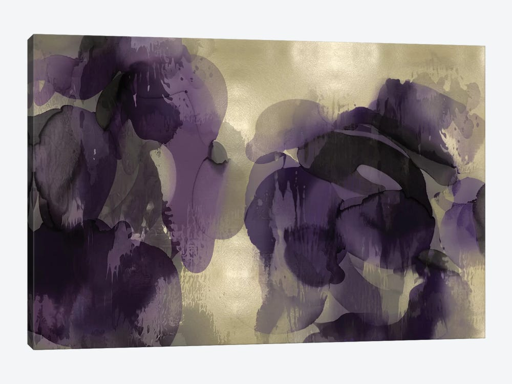 Cascade Amethyst Horizontal 1-piece Canvas Print