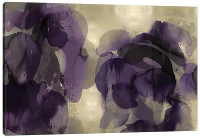 Cascade Amethyst Horizontal Canvas Art Print