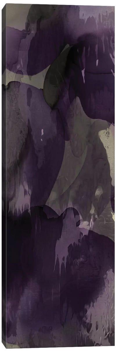 Cascade Amethyst Vertical I Canvas Art Print