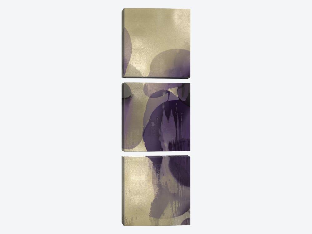 Cascade Amethyst Vertical II by Kristina Jett 3-piece Art Print